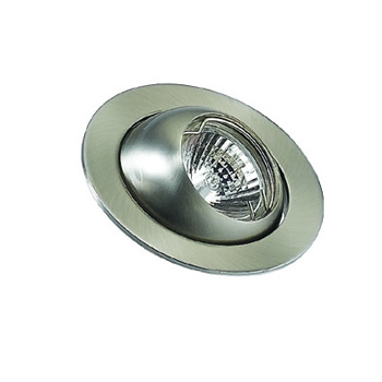 EB50BC - EyeBall Downlight. Brushed Chrome