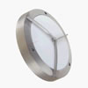 APOLLO1 - Aluminium Bulkhead Light With Polycarbonate Diffuser