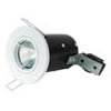 The FRLRFG - FireRated Lock Ring Fixed GU10 Downlight in White