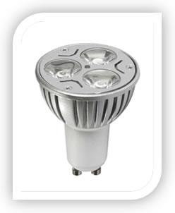 3x3w GU10 LuxStar EcoLuxe LED Lamp