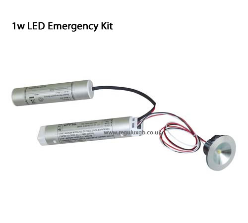 Emergency lighting - 1w LED Emergency Kit