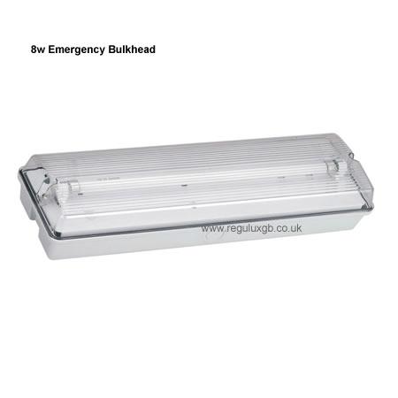 Site Lighting - 8w Emergency Bulkhead