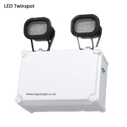 Emergency lighting - Emergency LED Twinspots