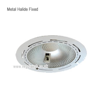 Fixed White 150w Circular Metal Halide Fitting