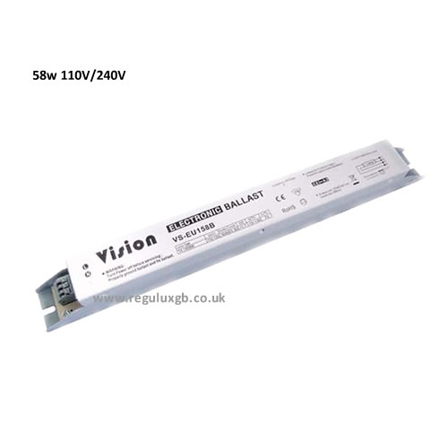 Electronic Ballasts - 58w in both 110v and 240v
