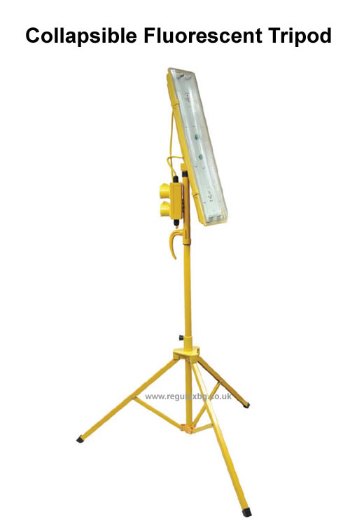 Site Lighting - Collapsible Fluorescent Tripods