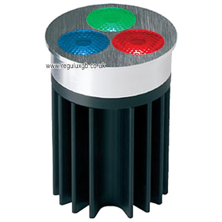 High Power LED Lamp - 3x3w Colour Changing RGB 50mm Flood
