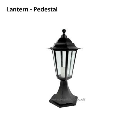 Outdoor lighting - Lantern - Pedestal