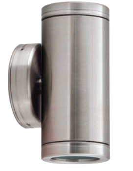 HAWKSS/12V - Up and Down Stainless Steel MR16 12V  2 X 35w MAX