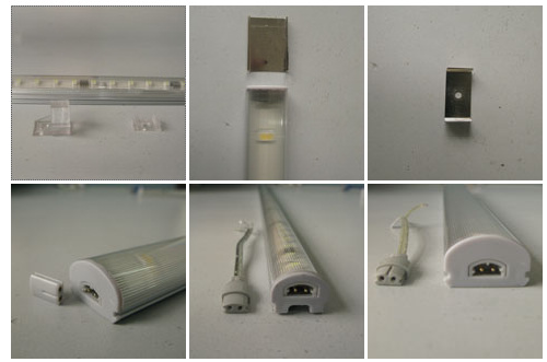 500mm 4w Cabinet LED Bar Clips and Connectors
