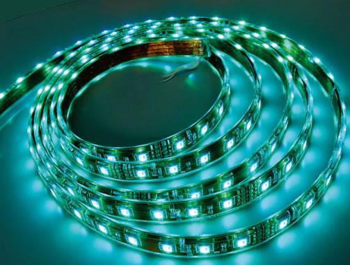 Flexible Ribbon LED Strip - Wateroof RGB